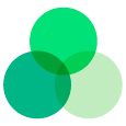farvekombination grønne nuancer