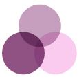 farvekombination lilla nuancer