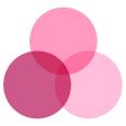 farvekombination lyserød nuancer