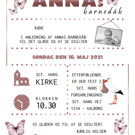 invitation-barnedåb_rosegold_pige